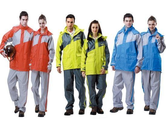 【達新牌】飛馳型雨衣共三色橘灰/藍灰/綠灰(B04~B06)