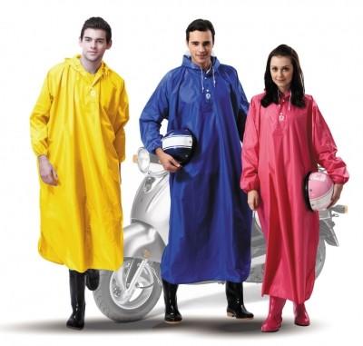 【達新牌】達尼披雨衣(達新尼龍披肩半開):藍色B21、黃色B22、桃紅色B23