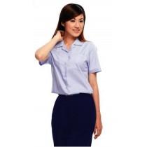 打摺女褲夏深藍1131