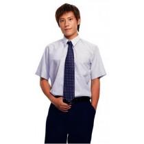 打摺男褲夏深藍1151