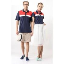 短袖涼感抗UV排汗衣:女TS1559