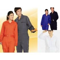 連身服:深藍E01、寶藍E02、灰E03、橘紅E04、白E05