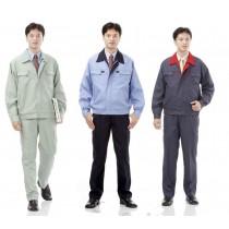 休閒工作褲: 淺果綠2161、深藍2162、鐵藍2163