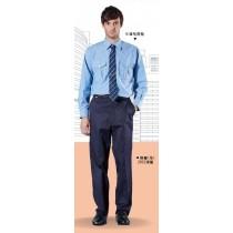 長袖牛津布襯衫(水藍色)2026
