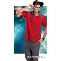 短袖排汗衣:男深藍S7302、男酒紅S7303